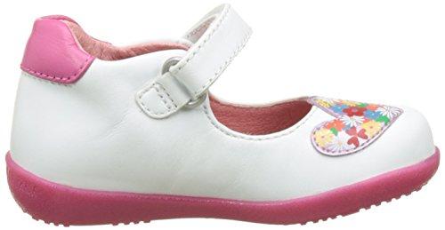 Agatha Ruiz de la Prada Follow Baby, Sandales Bébé Fille Blanc (Blanco)