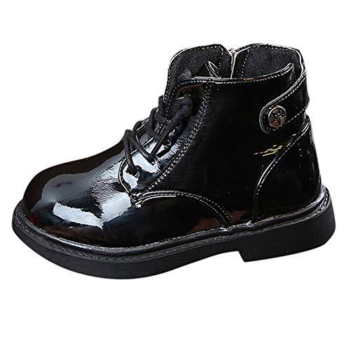 Chaussures Bébé Binggong Bébé Enfants Chaud Garçons Filles Martin Sneaker Bottes Neige Bébé Zip Chaussures Décontractées -Martin Sneaker Bottes Enfants