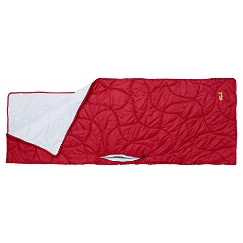 Jack Wolfskin Schlafsack Poncho Guard, Indian Red, One size, 3002411-2210