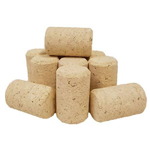 50 Stück unbehandelte Weinkorken 38 x 23,5 mm / Preßkorken, 38 x 23 mm, neu