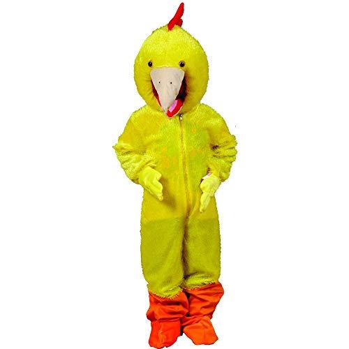 Dress Up America Lustiges gelbes Huhn Kostüm für Erwachsene