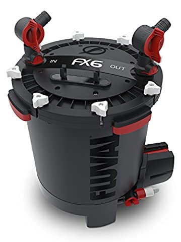 Fluval Filtre Extérieur pour Aquarium FX6 Débit Max 3500 L/H