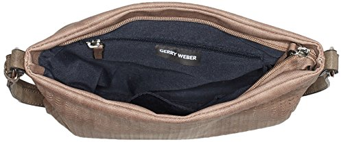 GERRY WEBER Damen Simple Mind Shoulderbag Mhz Schultertasche, 3.5 x 24 x 27 cm Rot (Rose)