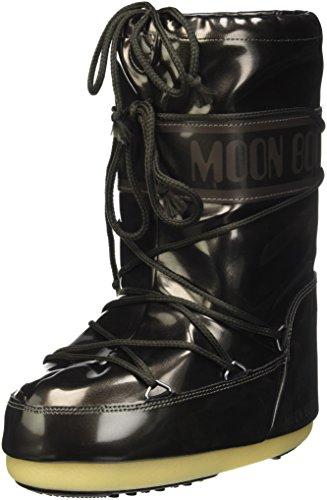 Moon Boot Vinile Met, Scarpe Walking Baby Unisex Bimbo, Nero, 31/34 EU