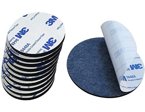 1 einzelnen Pad x 3 m Klebeband EVA Schaumstoff schwarz ~ 80mm Durchmesser x 2mm doppelseitig Acryl Automotive Aufsatz Kreis - Modell: 9448 -