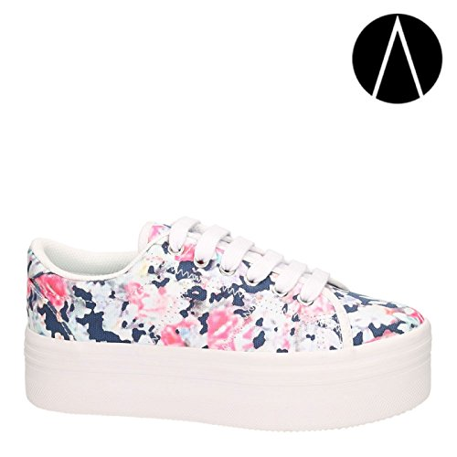 JEFFREY CAMPBELLE EPLAY ZOMG BLUE-FLORAL (40)
