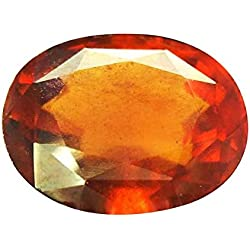 Malabar Gems Ceylon Gomed (Hessonite) Lab Certified Natural Gemstone 6.52 Carat/ 7.24 Ratti