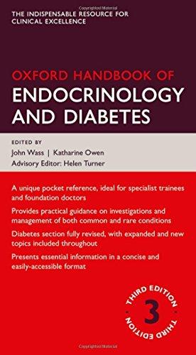 Oxford Handbook of Endocrinology and Diabetes 3/e (Flexicover) (Oxford Medical Handbooks)