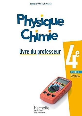 Livre Physique Chimie - Physique-Chimie cycle 4 / 4e - Livre