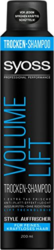 Syoss Trocken-Shampoo Volume Lift, 6er Pack (6 x 200 ml)