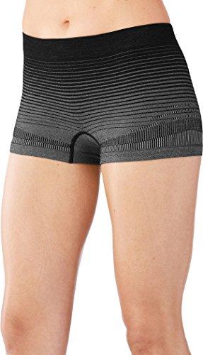 Smartwool Damen PhD Seamless Boy Short Kurze Unterhose Funktionsunterwäsche (Kurze Boy Schlüpfer)