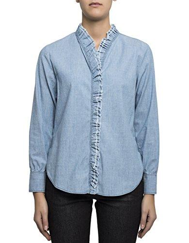 isabel-marant-damen-ch019317p016e30lu-hellblau-baumwolle-hemd