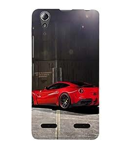 EPICCASE dashing red beauty Mobile Back Case Cover For Lenovo A6000 (Designer Case)