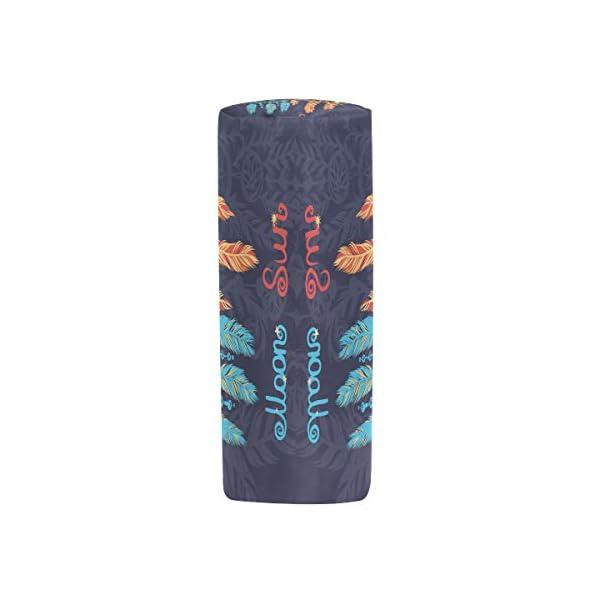 Estuche para lápices Vinlin, étnico, tribal, portable, portatodo multifuncional, con cremallera, para la escuela y la…