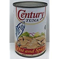 ‏‪Century Tuna Flakes Hot & Spicy , 420 gms‬‏
