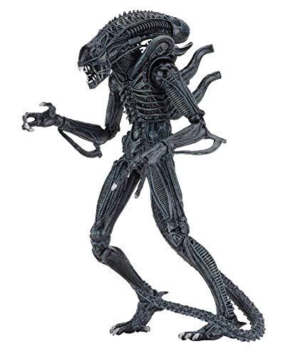 Aliens die Rückkehr - Actionfigur - Ultimate Warrior - Xenomorph + Zubehör - 23 cm - Blue