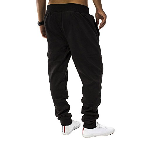 Pantaloni della tuta Uomo Fit & Casa ID1128 (vari colori) Schwarz