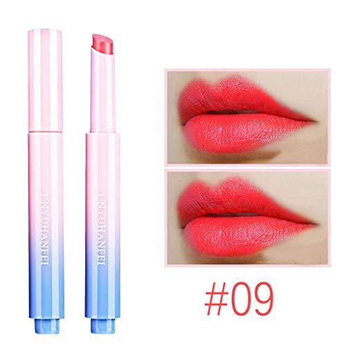 Precioul Schattierungen matte Lippen Dessous flüssige Lippenstift, langlebig und wasserdicht Rotierender feuchtigkeitsspendender Lippenstift aus Glamoursamt