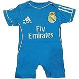 Body mameluco Jumpsuit Real Madrid Away Ronaldo 6-9 Meses