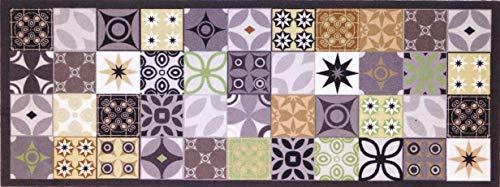 oKu-Tex Fußmatte   Schmutzfangmatte   Mosaik Muster Bunt  
