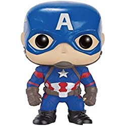 FunKo POP! Bobble - Marvel: Captain America CW: Captain America