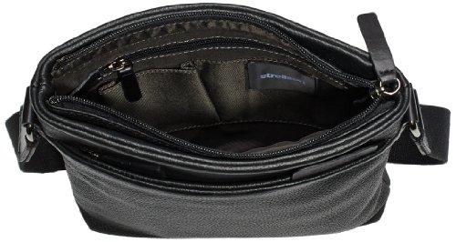 Strellson Garret ShoulderBag SV 4010001285 Herren Schultertaschen 23x26x4 cm (B x H x T), Schwarz (black 900) Schwarz (black 900)