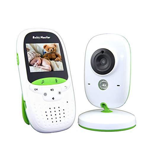 Baby Monitor, Kid Digital 2.4g Wireless Security Videocamera Baby Monitor con Monitor di Temperatura Batteria Ad Alta capacità Baby Monitor con Telecamera