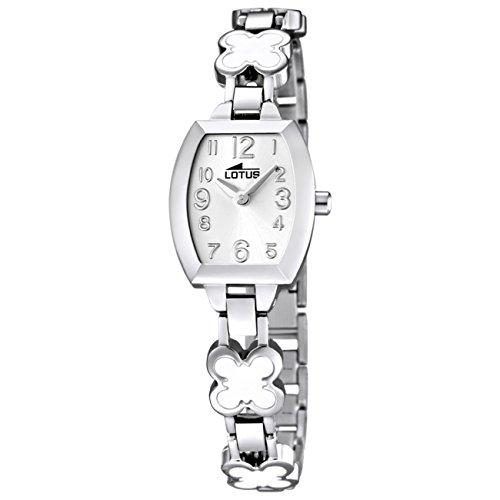 Lotus Reloj Analógico para Niñas de Cuarzo con Correa en Acero Inoxidable  15771 fc6125d1e2ff