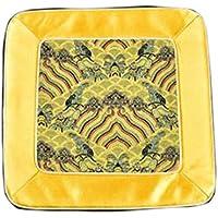 Wukong Paradise Damasco Bordado Coaster Pot Mat Mat Tea Mats Mesa Runner Té Accesorios-A06