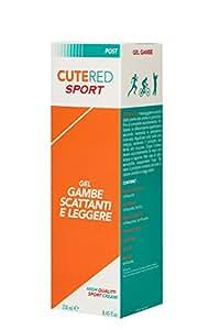 Cutered Sport Gel Gambe Scattanti e Leggere, 250ml