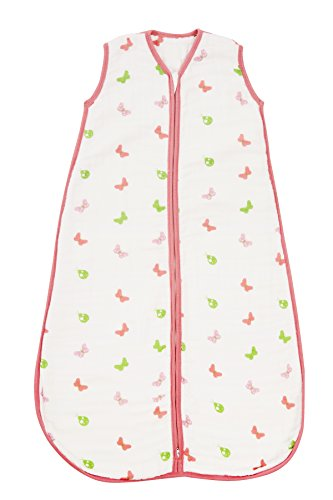 ommerschlafsack Musselin 0.5 Tog - Schmetterling - 12-36 Monate/110 cm (Hello Kitty Outfit)