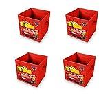 made2trade Faltbare Aufbewahrungsbox für Das Kinderzimmer im Cars 3 Design | 30x30x30cm