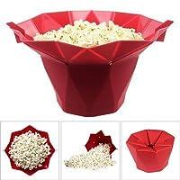 Unique Store Foldable Silicone Microwave Popcorn Popper Mar