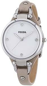 Fossil - ES3150 - Montre Femme - Quartz Analogique - Bracelet Cuir Beige