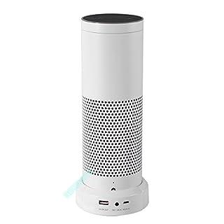 BECEMURU Akku-Unterseite für Amazon Echo 9000mAh Power Bank Ladegerät Zum Laden von tragbaren Geräten (Nicht für New Echo 2.und Echo Plus) (Weiß)