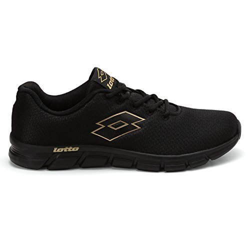 159791c4105 ... Lotto Men s Vertigo Black Running Shoes - 8 UK India (42 EU) ...