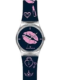 Alpha Saphir 315D - Reloj de caballero de cuarzo, correa de plástico color varios colores