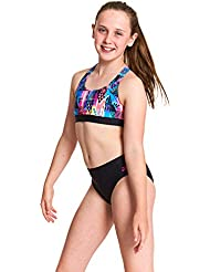 Zoggs Girls' Muscle 2-piece Swimsuit Bikini