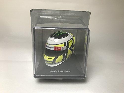 Spark Casco Formula 1 DE Jenson Button campeón Mundial 2009 Escala 1: