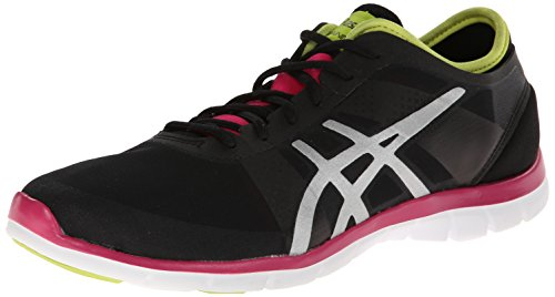Asics Gel-Fit Nova Textile Cross-Training Black/Silver/Hot Pink