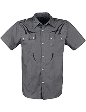 Doomsday Tribal Shirt Camicia Grigio/Nero