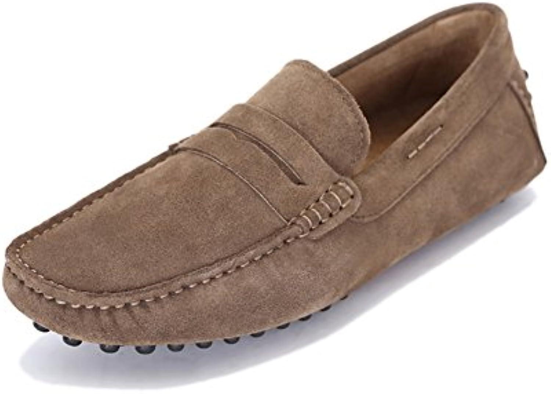 Mode Bohnen Schuhe/Herren Freizeitschuhe von England/ faule Männer Schuhe fahren