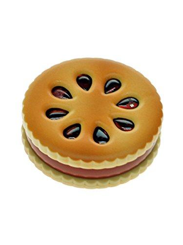 Biscuit Grinder im Keks-Design mit Alu-Mahlwerk - 2 Teile, 5,5 cm Durchmesser - head&nature Smoke Shop (Shop-mahlwerk)