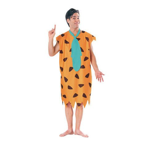 Caveman Kostüm Für Erwachsene - Mens Erwachsene Fred Feuerstein The Flintstones