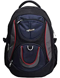 F Gear Axe 27L Black Navy Blue School Bag 1860