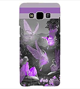 ColourCraft Dancing Angels Design Back Case Cover for SAMSUNG GALAXY A3