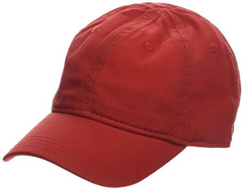 c5fb2b3f66 Lacoste Boy's Rk3106 Cap, Red (Salvia Adx), Medium (Manufacturer Size: