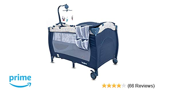 Buy BAYBEE Sparrow Baby Play Pen Portable Baby Bed Cum Cot b1b9396997