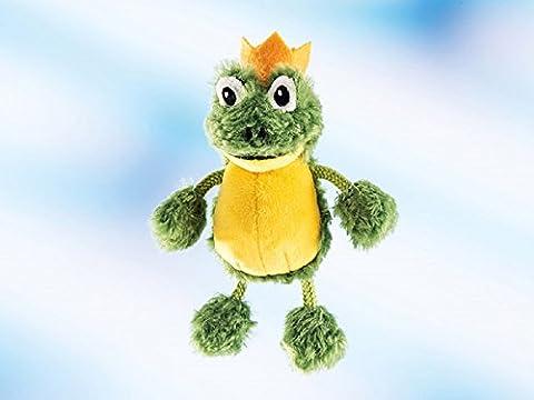 Schaffer Plüsch Schlüsselanhänger Frosch CHARLES grün, 9 cm