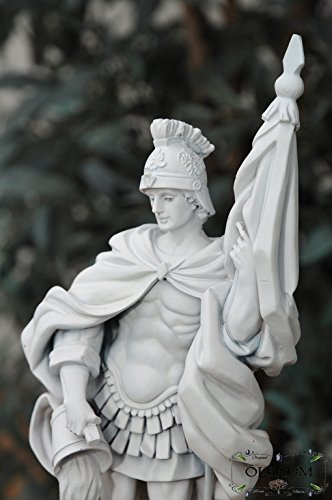 12-13cm, in marmo bianco (mattlackiert), Premium-Statuetta San